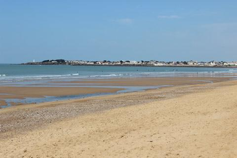 Main beach at Saint-Gilles-Croix-de-Vie