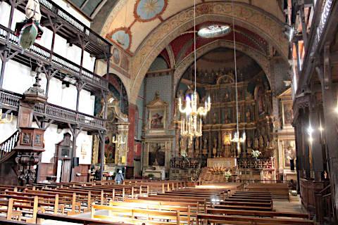 autel de l'église Saint-Jean-Baptiste de Saint-Jean-de-Luz