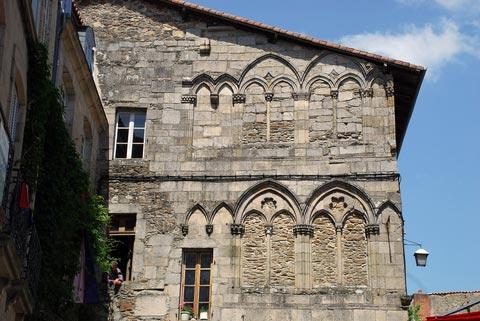 maison médiévale de Saint-Léonard-de-Noblat
