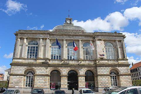 Town Hall in Saint-Omer