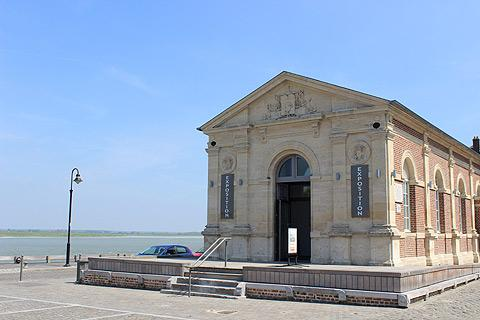 Seafront museum in Saint-Valery-sur-Somme