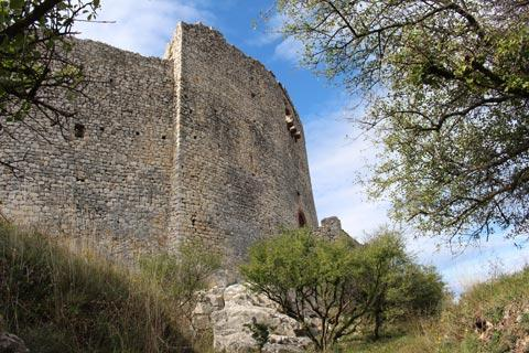 walls of the Castellas