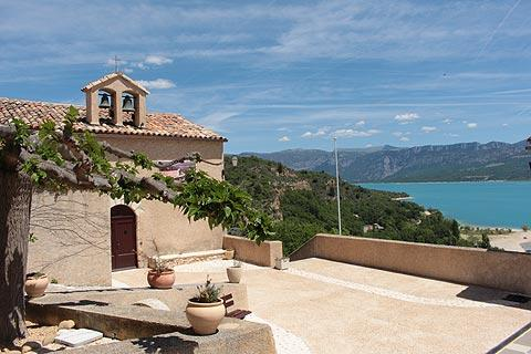 Sainte croix du verdon france is the main resort on the - Office du tourisme sainte croix du verdon ...