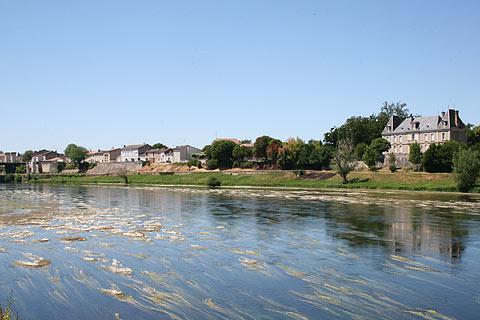 Dordogne rivière a Sainte-Foy-la-Grande