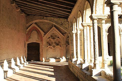 cloisters in Saint-Emilion
