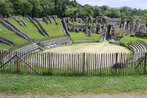 Amphithéâtre de Saintes vue ouest