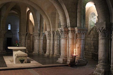 Crypte de l'église de Saint-Eutrope