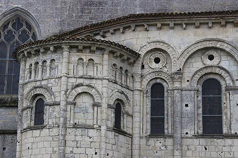Eglise de Saint-Eutrope à Saintes