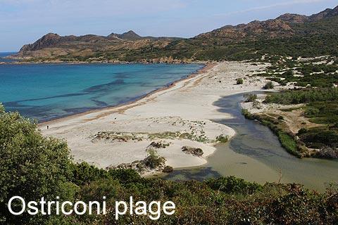 Beach in Ostriconi