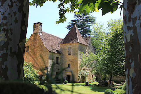 Charming manor house in the village of Saint-Leon-sur-Vézère
