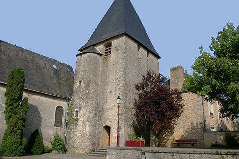 eglise de Notre-Dame à Saulges