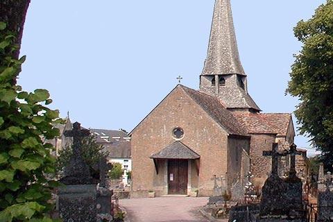 Eglise de Saint-Saturnin à Saulieu
