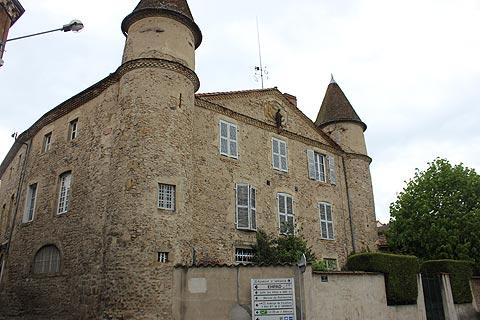 Abbey building in Sauxillanges