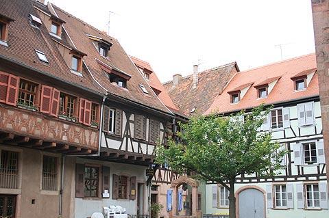 maisons médiévales à Sélestat