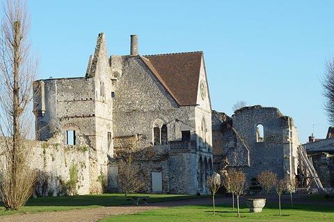 L'historique château de Senlis