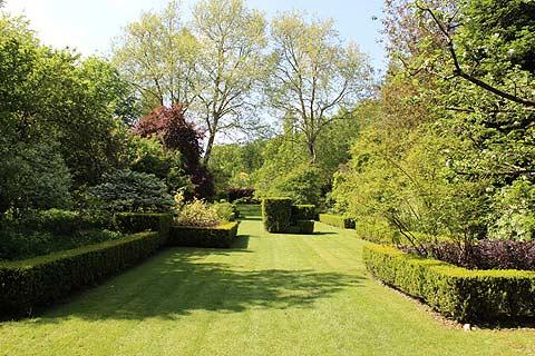 jardin topiaire, Jardins de Sericourt