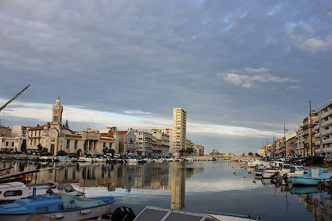 harbour in Sete