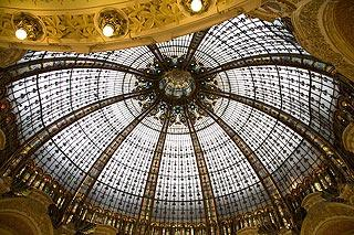 Galaries Lafayette store in Paris