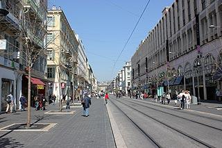 Shopping street in central Nice