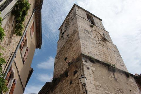Ancien clocher de pierre