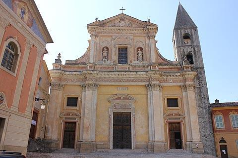 cathédrale de Sospel