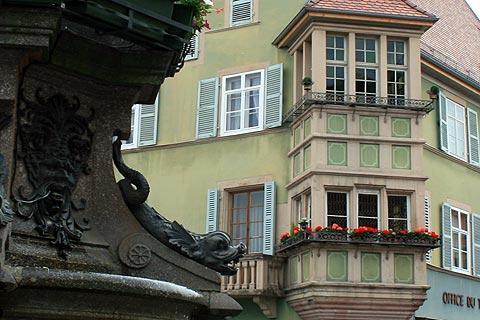 oriel à deux étages de Soultz-Haut-Rhin office de tourisme