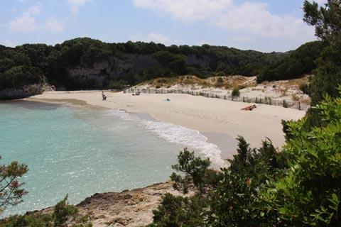 Beach at Sperone