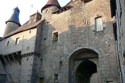 belfry and fortified gateway