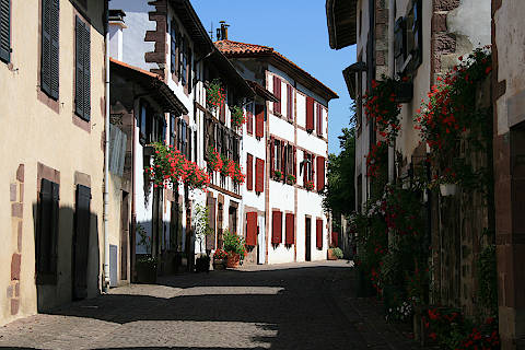 Rue à Saint-Jean-Pied-de-Port