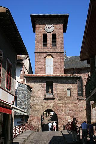 Visiter saint jean pied de port guide de voyage et information de tourisme pour saint jean pied - Saint jean pied de port carte ...