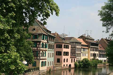 La Petite France quarter of Strasbourg