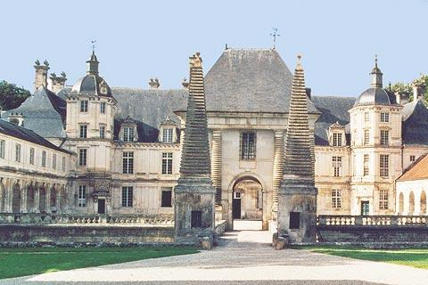 Façade du Château de Tanlay