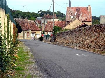 Street in village