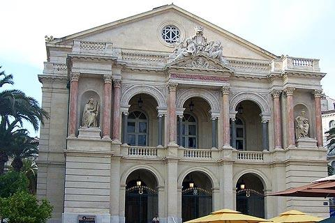 Opera building in Toulon