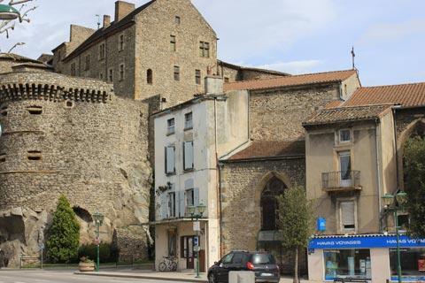 Tournon-sur-Rhone château