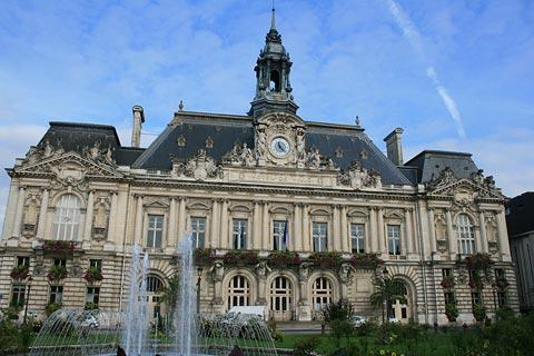 Town Hall in Tours