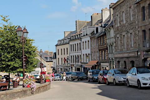 Centre ville de Treguier