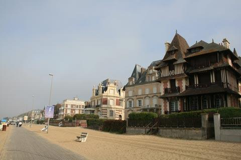 sea front in Trouville