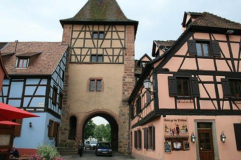 Fortified gateway in Turckheim, Alsace