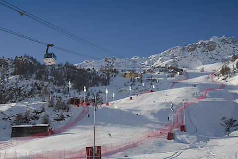ski world championships in Val d'Isere