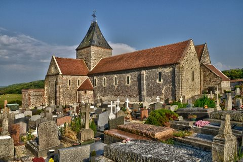 Église du village de Varengeville-sur-Mer