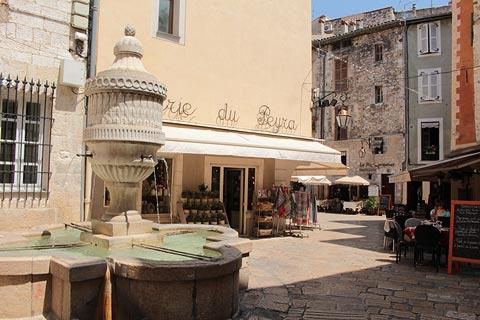 fountain in the historic centre of Vence