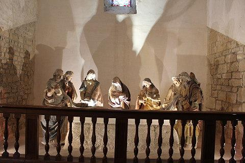 Mise au tombeau in Verteuil church