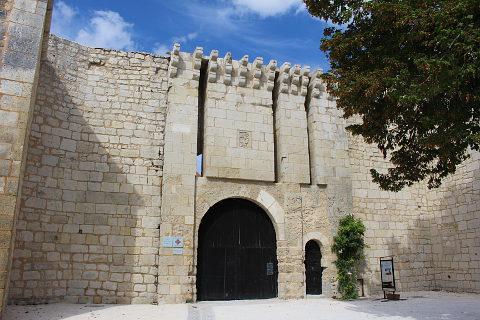 chateau imposant de villebois-lavalette