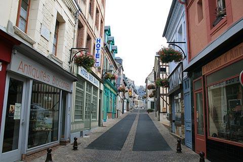 centre ville de Villerville