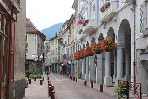 centre ville de Vizille