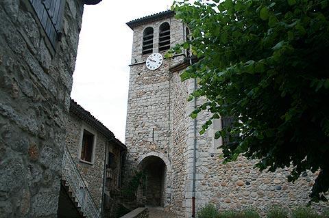 Eglise dans Vogüé