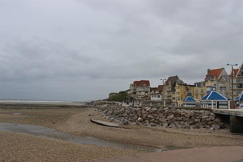 Front du mer à Wimereux
