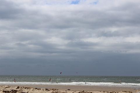 Kitesurfing at Wissant